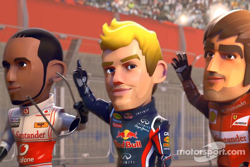 F1 RACE STARS - F1 meets Mario Kart - Video