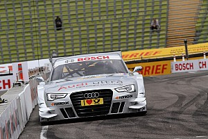 DTM Race report Audi youngster causes surprise