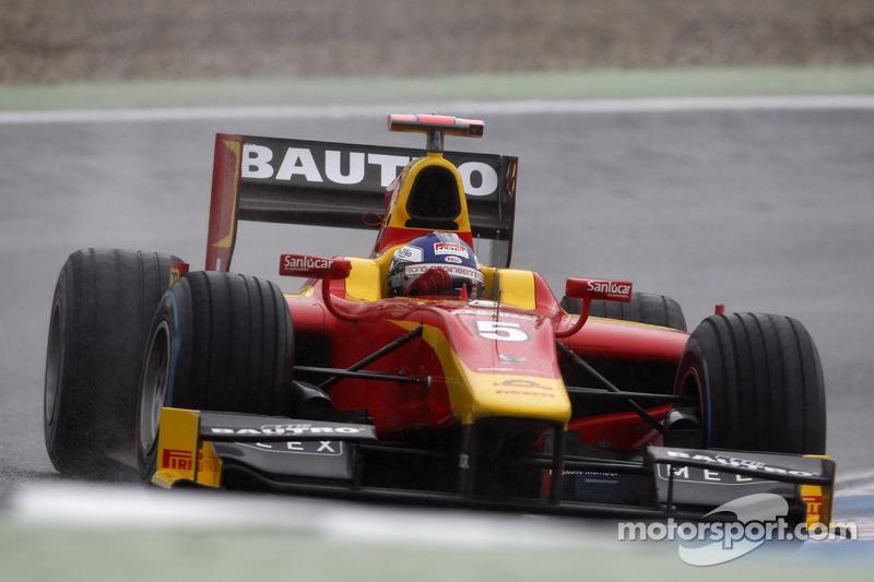 Fabio Leimer and Racing Engineering qualify 3rd at a wet Hockenheim