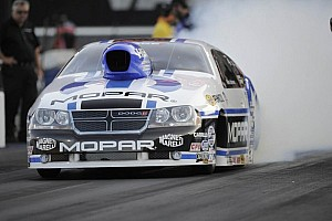 NHRA Qualifying report Allen Johnson sets track record to lead NHRA top qualifiers in Denver