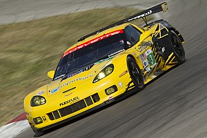 ALMS Race report Magnussen and Garcia take GT points lead with runner-up finish at Mosport