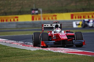 GP2 Race report Amazing recovery to top ten for Coletti in Budapest Feature Race