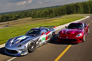 ALMS Press conference SRT Viper GTS-R is ready to make its debut at Mid-Ohio
