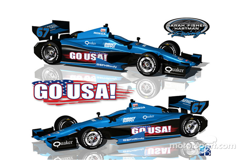 Newgarden and SFHR to sport US Olympic pride at Mid-Ohio