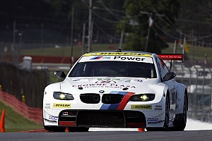ALMS Qualifying report BMW Team RLL sets the pace in Mid-Ohio GT qualifying