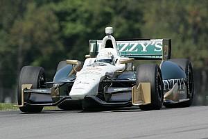 IndyCar Qualifying report Ed Carpenter improves speed in Mid-Ohio qualifying