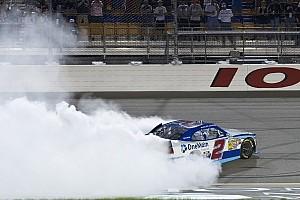 NASCAR XFINITY Race report Sadler takes Iowa win week after black flag