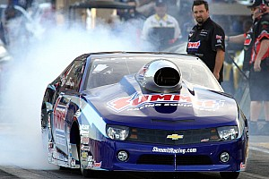 NHRA Qualifying report Starting sixth, Line has work to do in Seattle
