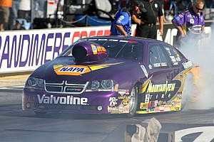 NHRA Race report Hard work results in a semifinal finish in Seattle for Nobile