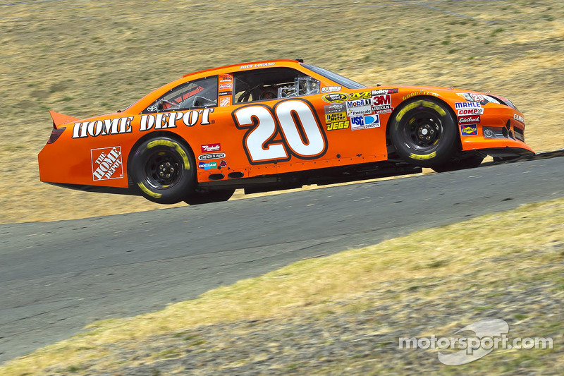 Logano looking for improvement on The Glen's road course