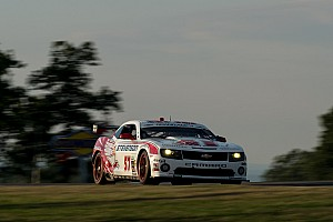 Grand-Am Race report Stevenson Motorsports race to the Watkins Glen podium ended at the first turn