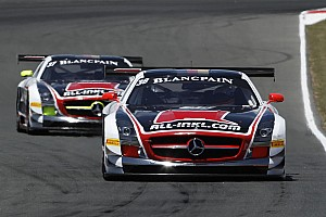 Blancpain Sprint Practice report Mercedes hold edge but BMW are poised to pounce