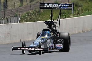 NHRA Race report Bernstein, MAVTV dragster on wrong end of tight race in Brainerd