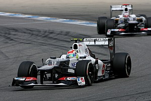 Formula 1 Preview Sauber is getting ready for the Belgian Grand Prix - video