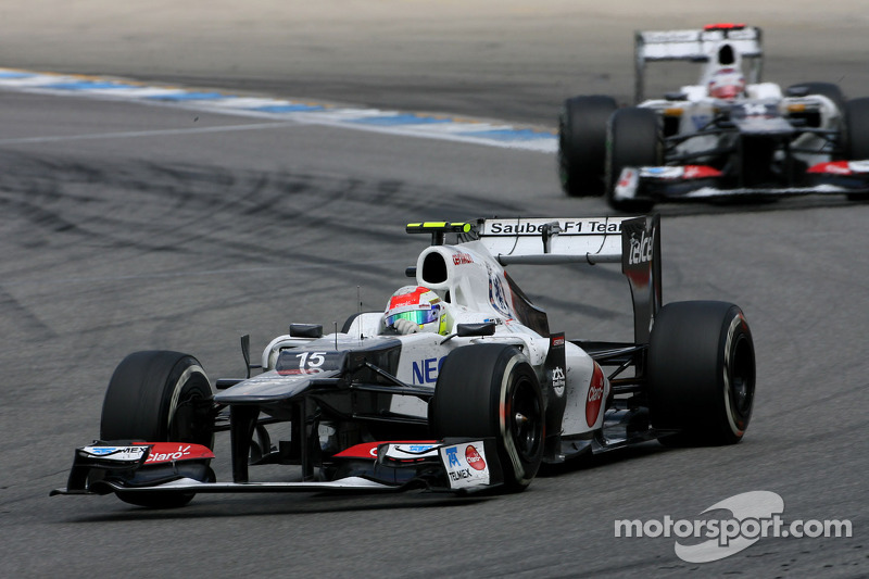 Sauber is getting ready for the Belgian Grand Prix - video