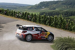 WRC Leg report Loeb and Elena take the early lead in Rallye Deutschland - Video