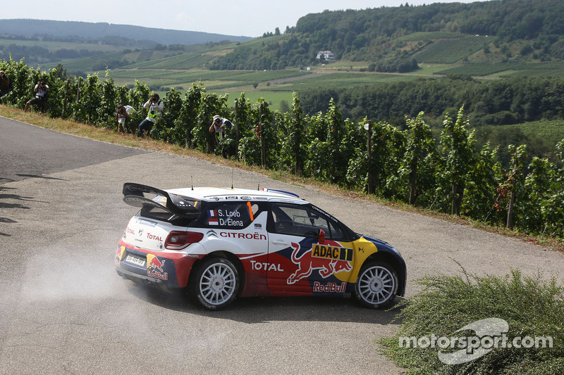 Loeb and Elena take the early lead in Rallye Deutschland - Video