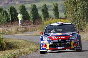 WRC Leg report Rich pickings for Loeb on day one of Rallye Deutschland - Video