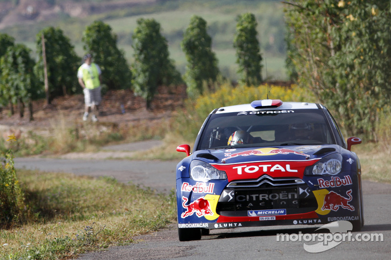 Rich pickings for Loeb on day one of Rallye Deutschland - Video