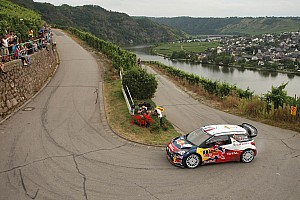 WRC Leg report Loeb reigns supreme in Germany