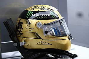 Formula 1 Special feature Michaels Schumachers 300th GP Helmet Design
