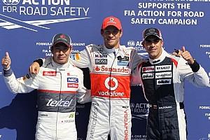 Formula 1 Qualifying report Button, Kobayashi top qualifying at Spa