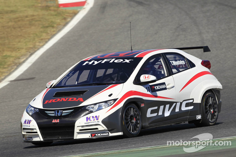 Monteiro spends two intense days of testing at the wheel of the Honda Civic 5P