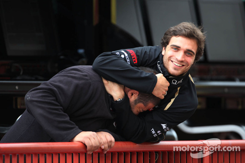 d'Ambrosio beats out rivals for Lotus race seat for Monza