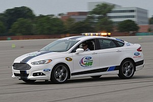 NASCAR Cup Special feature Ford Cup stars take 2013 Ford Fusion production car for ultimate test drive - Video