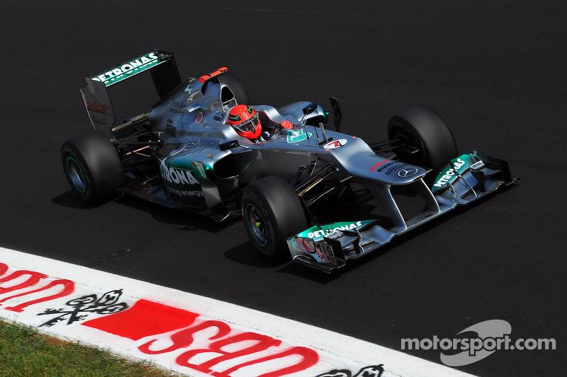 Mercedes has 4 engines in the top ten at Monza