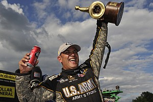 NHRA Race report Schumacher wins ninth Top Fuel crown and Brown races to semifinals at Indy