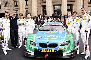 DTM Breaking news BMW Motorsport to run eight cars in the DTM as of 2013
