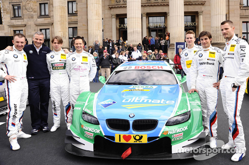BMW Motorsport to run eight cars in the DTM as of 2013