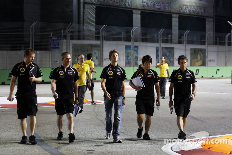 Lotus tells Grosjean to say 'no' to demands