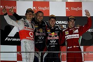 Formula 1 Race report Vettel capitalizes on Hamilton heartbreak in Singapore
