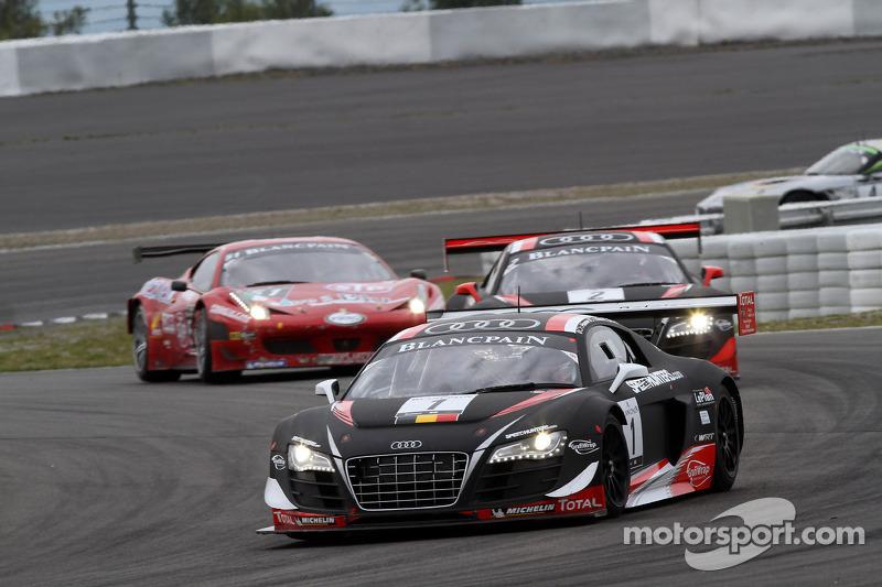 The Belgian Audi Club Team WRT takes lead of Blancpain's teams standings!