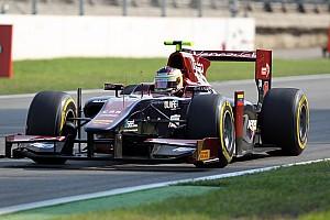 FIA F2 Race report Venezuela GP Lazarus concluded first season at Singapore