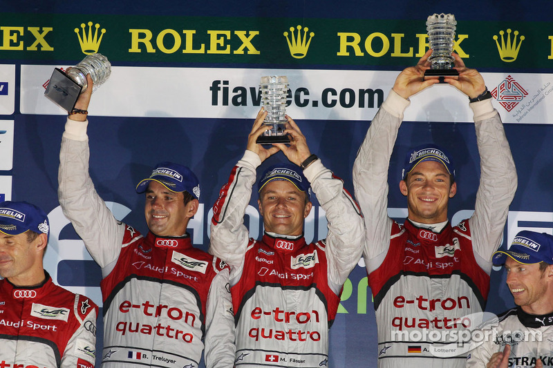 Audi hits back to score 1-2 in 6 Hours of Bahrain
