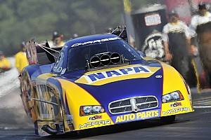 NHRA Race report Capps maintains Funny Car points lead despite upset in St. Louis