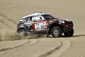Cross-Country Rally Stage report Highs and lows on the opening day of Pharaons Rally