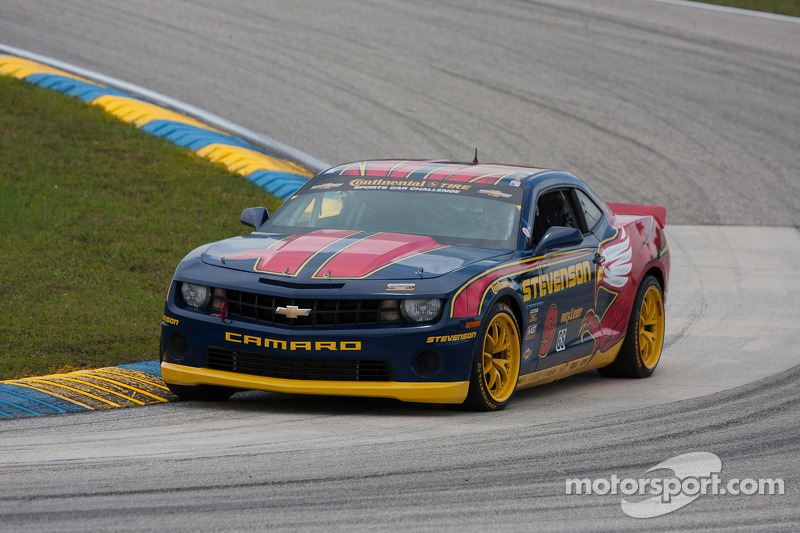 No. 9 Stevenson Camaro GS.R ends 2012 season third in CTSCC championship