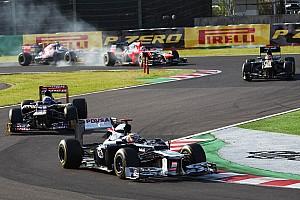 Formula 1 Race report Maldonado and Senna drove a solid race on Japanese GP