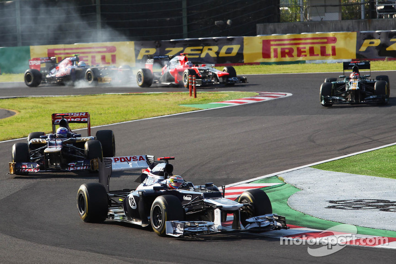 Maldonado and Senna drove a solid race on Japanese GP