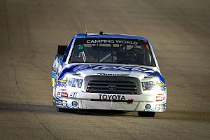 NASCAR Truck Race report Quiroga finishes 8th in KBM Toyota at Talladega