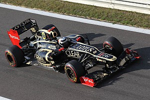 Formula 1 Practice report Lotus evaluated the new Coand exhaust system during Friday practice at the Korean Grand Prix