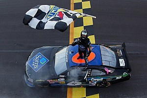 NASCAR XFINITY Race report It's raining sixes for Stenhouse in Kansas