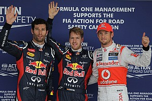Formula 1 Commentary Button tips Webber to help Vettel now