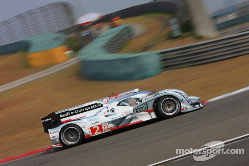 Audi's McNish on front row of the grid at Shanghai