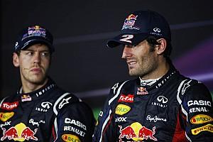 Formula 1 Breaking news Red Bull still counting on Webber's team spirit