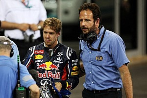 Formula 1 Breaking news Vettel will start in his Red Bull Renault from the rear of the Abu Dhabi grid